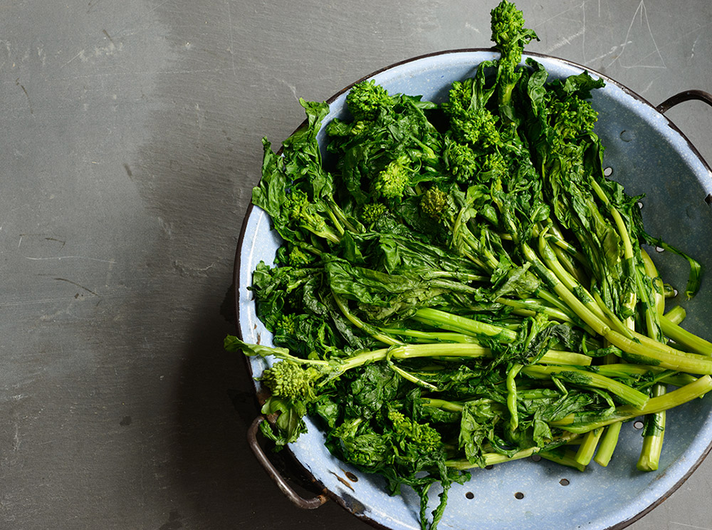 Blanched Broccoli Rabe