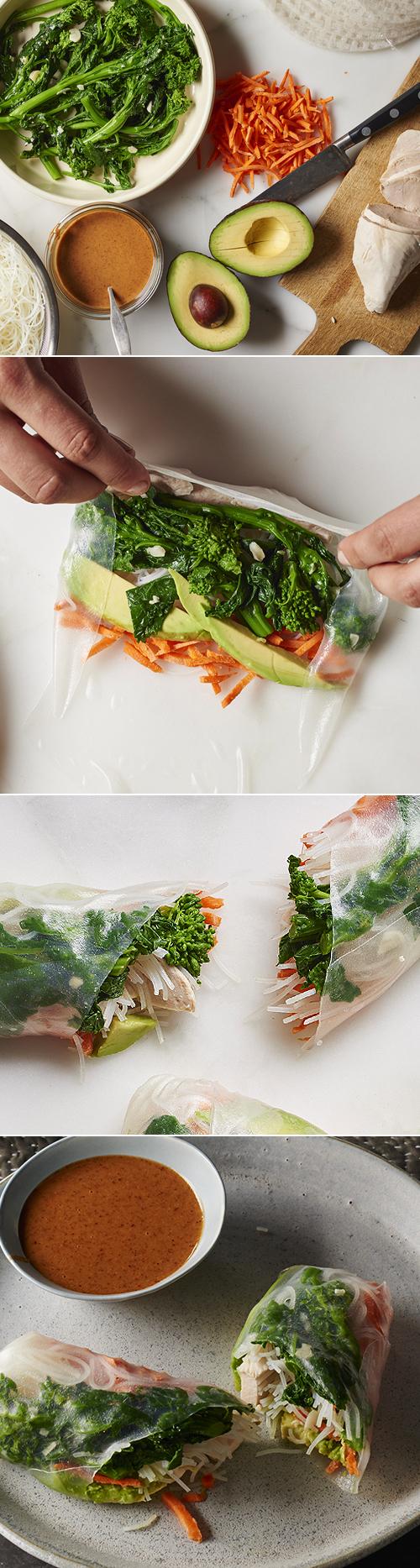 Andy Boy Broccoli Rabe Salad Rolls