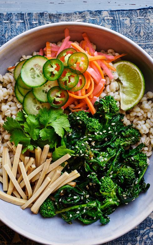 Banh Mi Broccoli Rabe Bowl