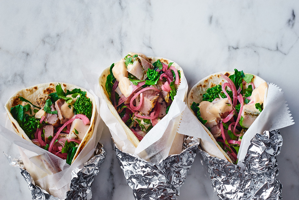 Porchetta Tacos