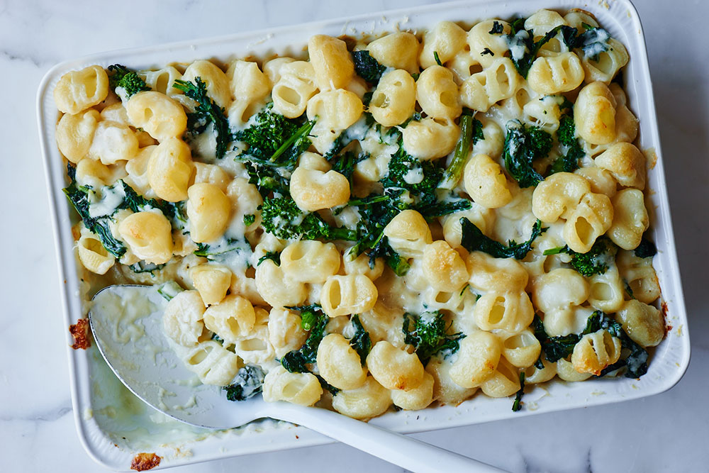 Broccoli Rabe Mac and Cheese