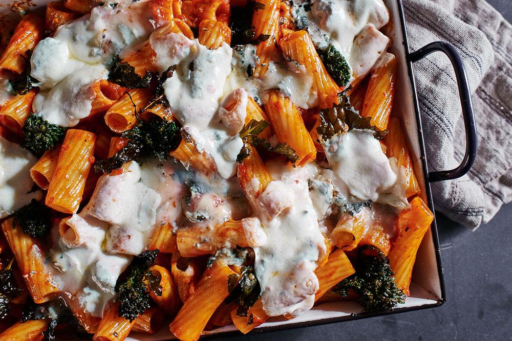 Broccoli Rabe and Rigatoni Bake